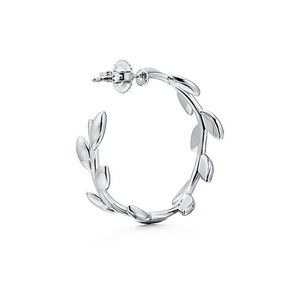 Tiffany & Co. Other - Olive leaf hoop earrings